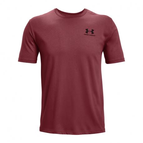 Pánske tričko s krátkym rukávom UNDER ARMOUR-UA SPORTSTYLE LC SS-RED