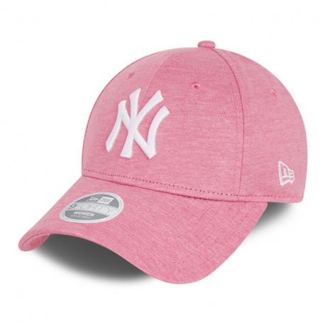 Juniorská kšiltovka NEW ERA-940K MLB cy Jersey essential 9forty NEYYAN - pink