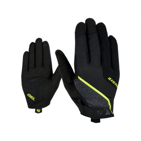 Cyklistické rukavice ZIENER-CLYO TOUCH long bike glove