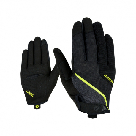 Cyklistické rukavice ZIENER-CLYO TOUCH long bike rukavice