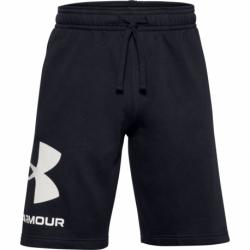 Pánske teplákové kraťasy UNDER ARMOUR-UA Rival FLC Big Logo Shorts-BLK
