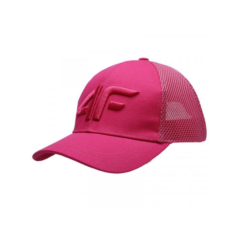 Dievčenská šiltovka 4F-GIRLS-cap-HJL21-JCAD008-63N-Pink -