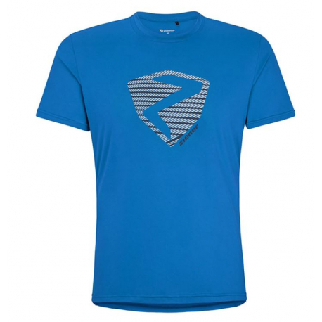 Tričko s krátkým rukávem ZIENER-NOLAF man (t-shirt) blue 798