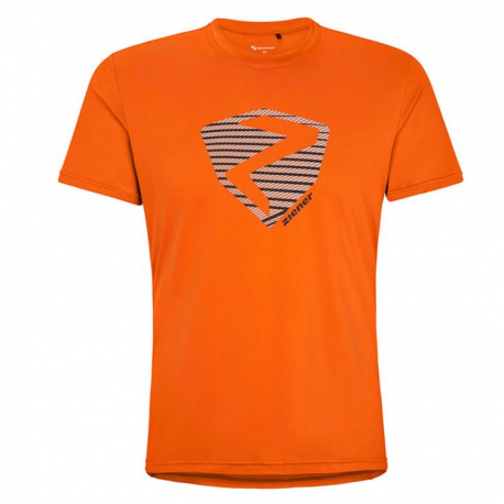 Tričko s krátkým rukávem ZIENER-NOLAF man (t-shirt) orange 955