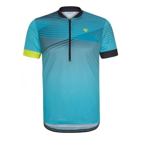 Cyklistický dres s krátkým rukávem ZIENER-NOAT man (tricot) blue 967