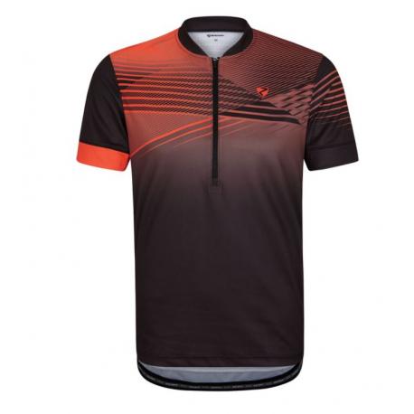 Cyklistický dres s krátkým rukávem ZIENER-NOAT man (tricot) black 12