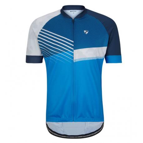 Cyklistický dres s krátkým rukávem ZIENER-NOFRET man (tricot) blue