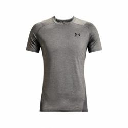 Pánske tréningové tričko s krátkym rukávom UNDER ARMOUR-UA HG Armour Fitted SS-GRY