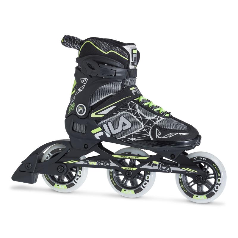 Dámske kolieskové korčule FILA SKATES-LEGACY PRO 100 LADY BLK/GRY/WG -