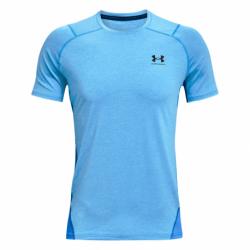 Pánske tréningové tričko s krátkym rukávom UNDER ARMOUR-UA HG Armour Fitted SS-BLU