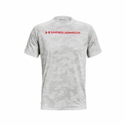 Pánske tréningové tričko s krátkym rukávom UNDER ARMOUR-UA TECH ABC CAMO SS-WHT