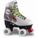 Dámske 4-kolieskové korčule FILA SKATES-BELLA WHITE -