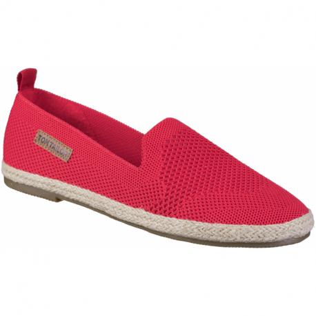 Dámske baleríny (rekreačná obuv) TOM TAILOR-Angle red