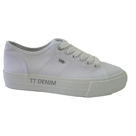 Dámska rekreačná obuv TOM TAILOR-Marros white