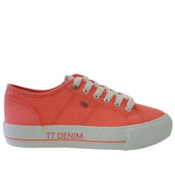 Dámska rekreačná obuv TOM TAILOR-Tenby neon orange