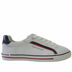 Dámska rekreačná obuv TOM TAILOR-Cardigan white
