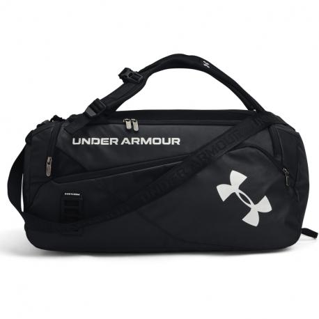 Cestovní taška UNDER ARMOUR-UA Contain Duo MD Duffle-BLK