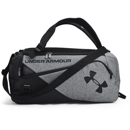 Cestovná taška UNDER ARMOUR-UA Contain Duo SM Duffle-GRY