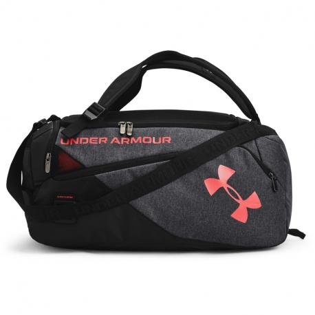 Cestovní taška UNDER ARMOUR-UA Contain Duo SM Duffle-BLK