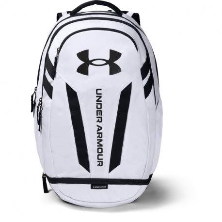 Batoh UNDER ARMOUR-UA Hustle 5.0 Backpack-WHT 100