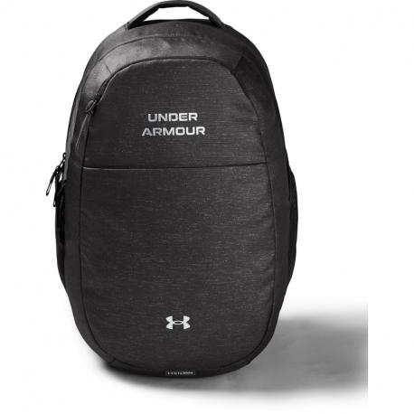 Dámský batoh UNDER ARMOUR-UA Hustle Signature Backpack-GRY