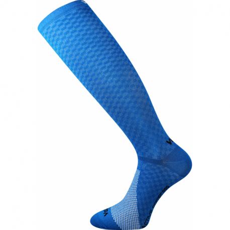 Bežecké kompresné podkolienky VOXX-Lithe-blue