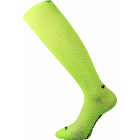 Běžecké kompresní podkolenky VOXX-Litho-neon yellow