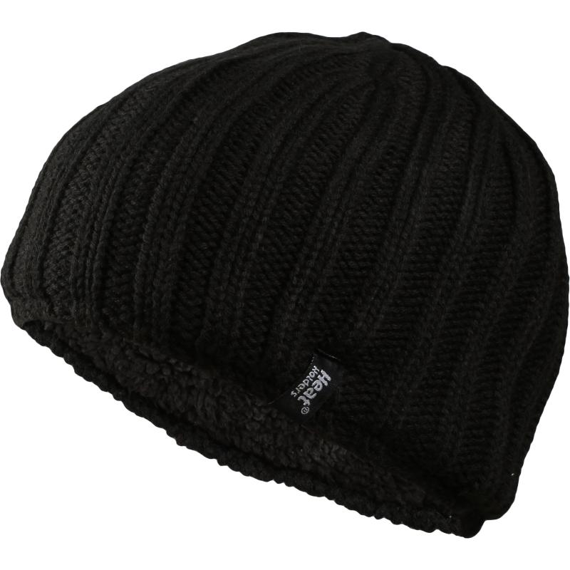 Pánska zimná čiapka HEAT HOLDERS-Pánska čiapka čierna - Pánska zimná čiapka  značky Heat Holders 2e9bd8aa5e5