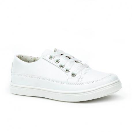 Dětská rekreační obuv WOJTYLKO-Helston white