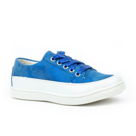 Dětská rekreační obuv WOJTYLKO-Helston blue