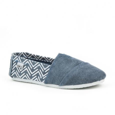 Detské baleríny (rekreačná obuv) NIKI-Cornwood jeans blue