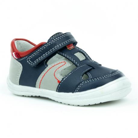 Dětská rekreační obuv WOJTYLKO-Garry blue