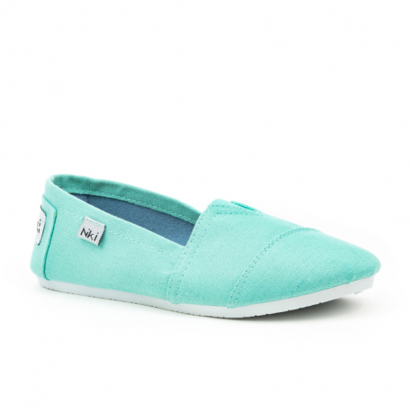 Detské baleríny (rekreačná obuv) NIKI-Cornwood turqoise