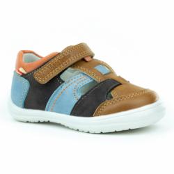 Detská rekreačná obuv WOJTYLKO-Garras brown