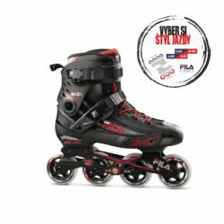 Pánske kolieskové korčule FILA SKATES-HOUDINI BLACK/RED