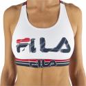 Dámska podprsenka FILA-FU6111 WOMAN BRA-300 WHITE -
