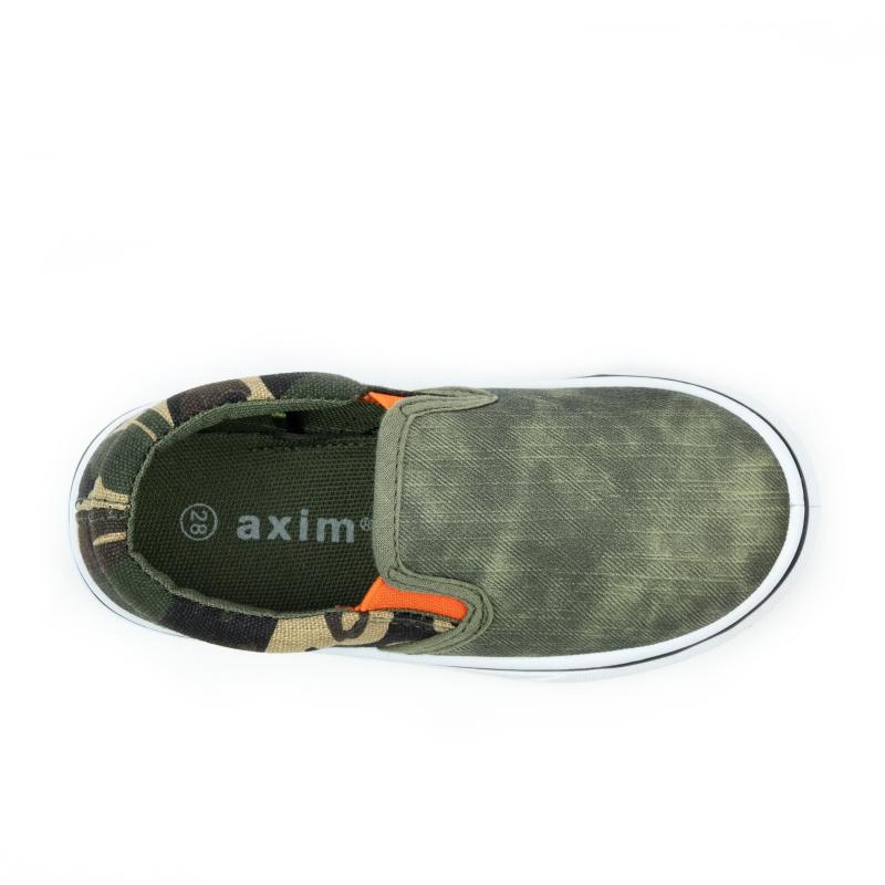 Detská rekreačná obuv AXIM-Tregony camo -