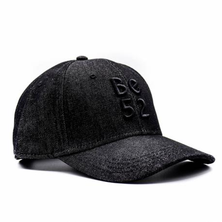 Šiltovka BE52-JEANS CAP Black