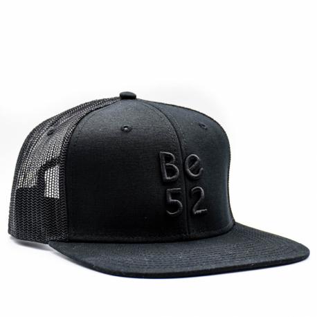 Šiltovka BE52-SNAP TRUCKER Black