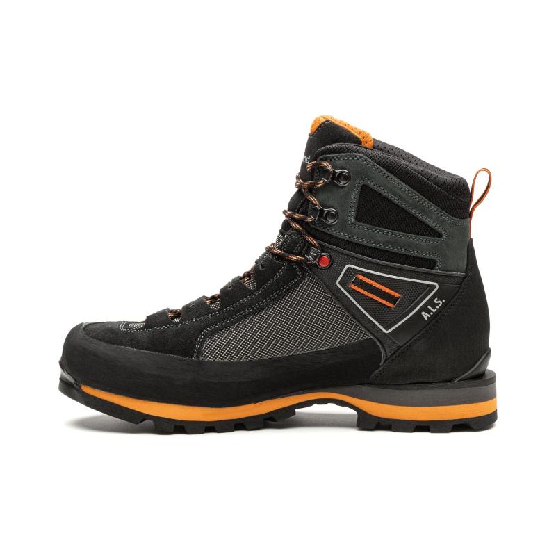 Pánska vysoká turistická obuv KAYLAND-Cross Mountain GTX grey/orange -