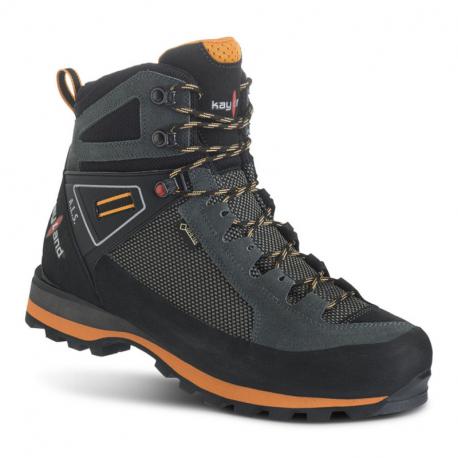 Pánska vysoká turistická obuv KAYLAND-Cross Mountain GTX grey/orange (EX)