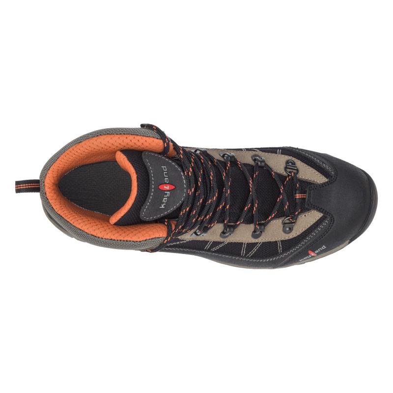 Pánska vysoká turistická obuv KAYLAND-Taiga GTX black/orange -