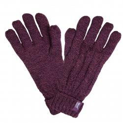 Dámske rukavice HEAT HOLDERS-Dámske rukavice fialová