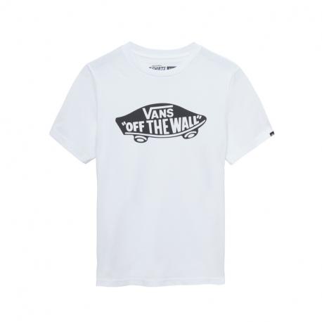 Chlapecké tričko s krátkým rukávem VANS-BY OTW BOYS White / Black