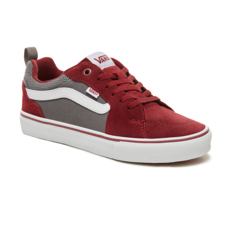 Pánská vycházková obuv VANS-MN Filmore Suede maroon / gray
