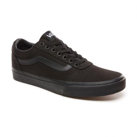 Pánska rekreačná obuv VANS-MN Ward Canvas black/black