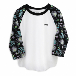 Dámske tričko s dlhým rukávom VANS-WM CALIFAS WHITE/CALIFAS B