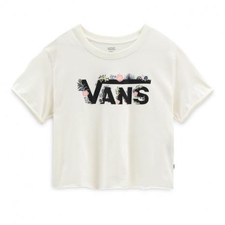 Dámské triko s krátkým rukávem VANS-WM BLOZZOM ROLL OUT marshmallow