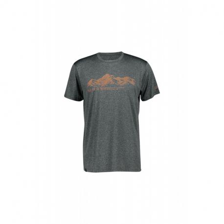 Pánske turistické tričko s krátkym rukávom FIVE SEASONS-CHELAN TOP M-TURBULENCE MELANGE
