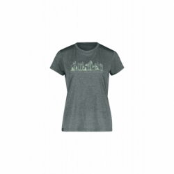 Dámske turistické tričko s krátkym rukávom FIVE SEASONS-DIXIE TOP W-TURBULENCE MELANGE